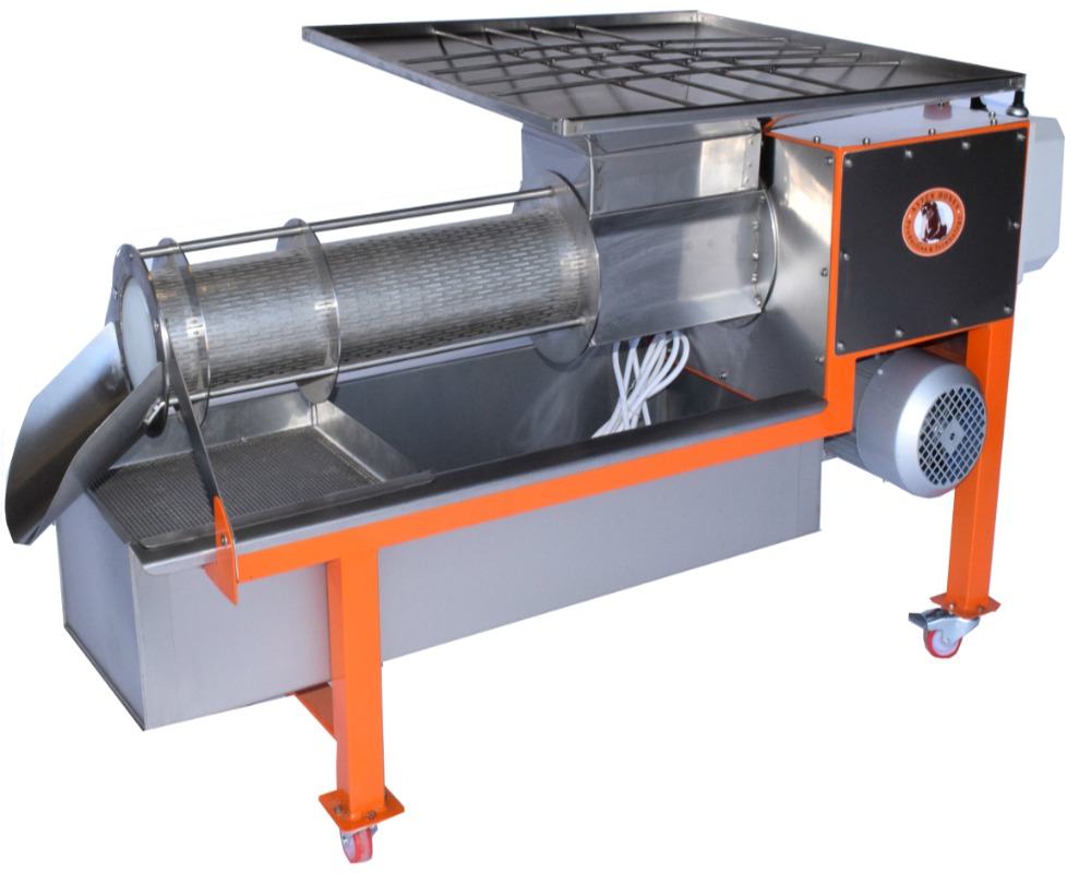 Cappings extruder