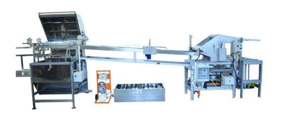 Automatic uncapping lines